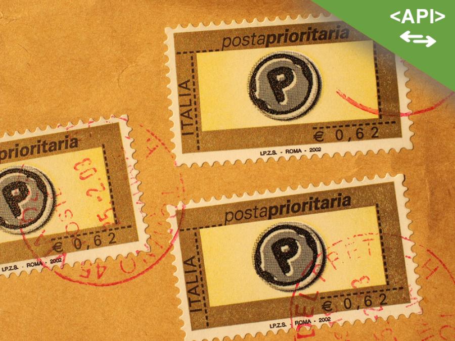 API Servizi Postali