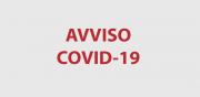 Ufficio Camerale - Avviso COVID-19