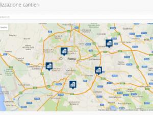 Novità nel Software Realgest: da oggi potrai Geolocalizzare i Cantieri.
