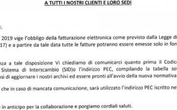 Codice destinatario fattura elettronica: è obbligatorio comunicarlo ai fornitori?