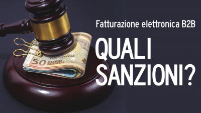 Fattura elettronica: per le violazioni si parte con sanzioni soft