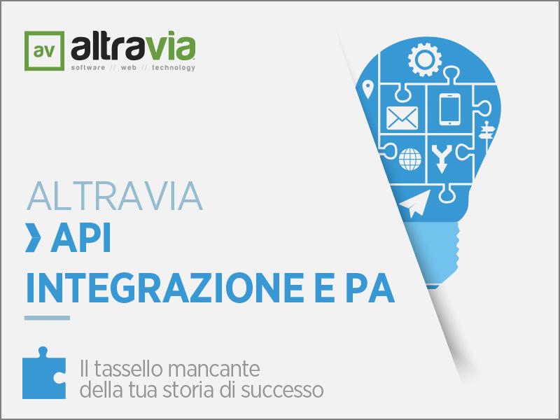 API, Integrazione e PA