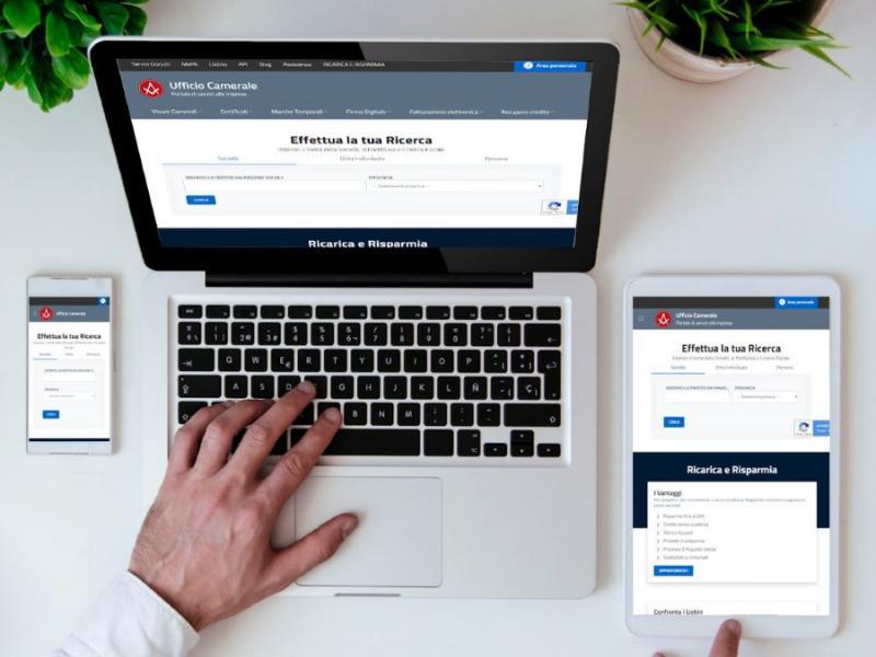 Ufficio Camerale potenzia il suo sito con servizi Gratuiti e Innovativi: scopri quali sono