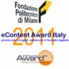 eContent Award Italy 2011